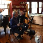 Teaching clarinet in home studio